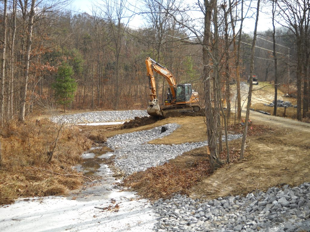 Storm Water Piping and Retention Ponds - Cottle's Asphalt
